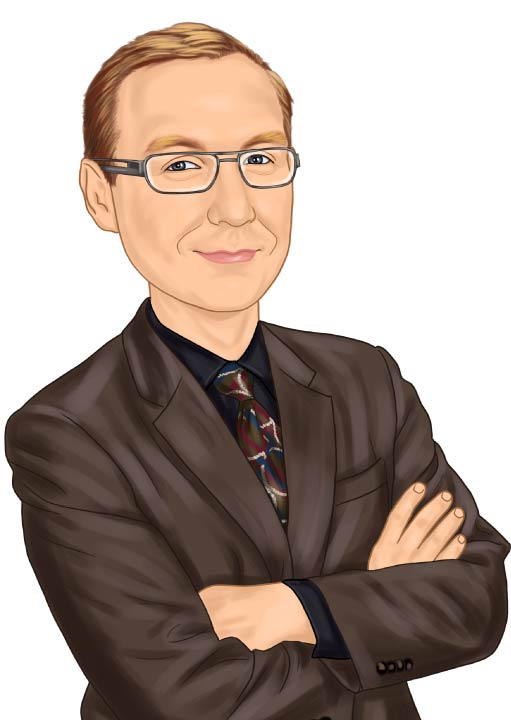Caricature of Eck Agency Insurance Agent Jamie