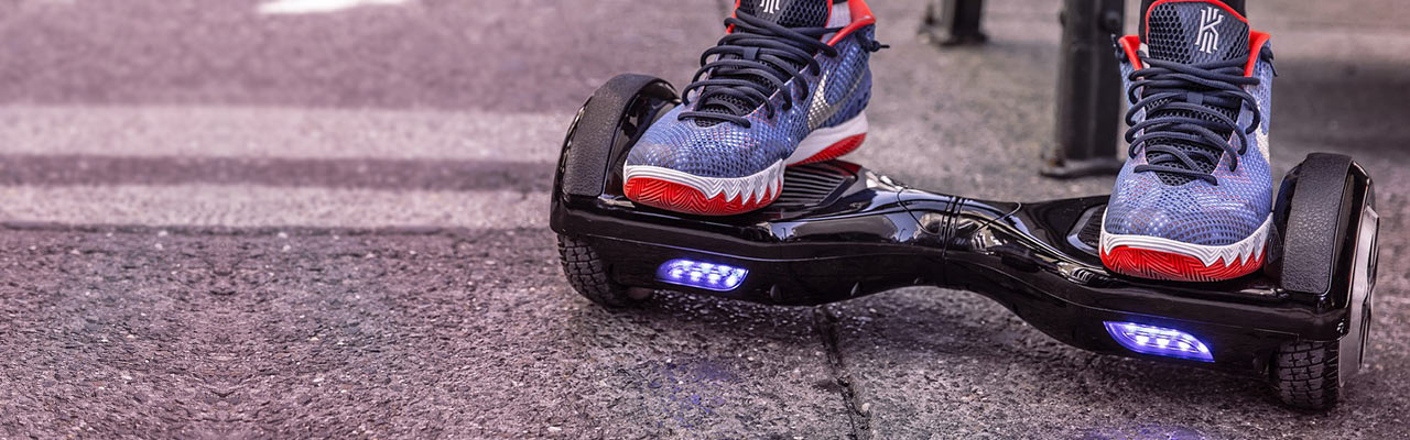 Hoverboards make great gifts, but make sure that gift also includes an accident policy.